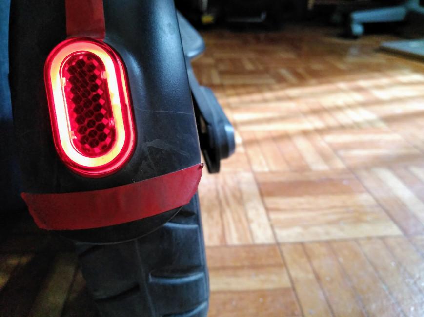 Luz trasera led para monopatin electrico xiaomi m365
