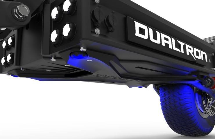 Plataforma del dualtron x2 review